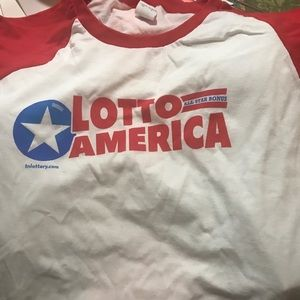 Other - Lotto American raglan official lottery sz xl